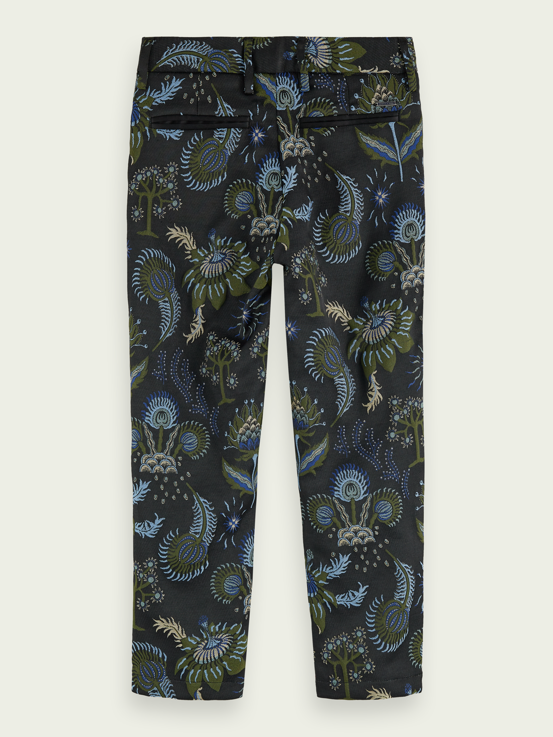 Kids Slim fit jacquard trousers