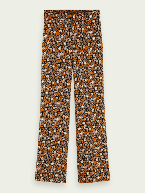 Scotch & Soda EDIE - HIGH RISE WIDE LEG PANTS