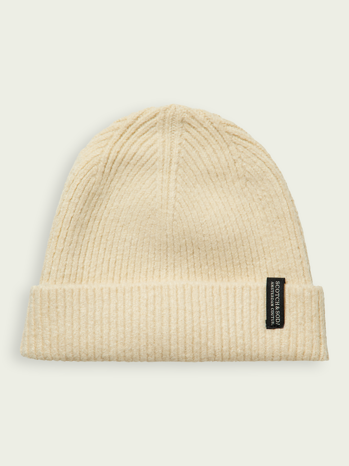Kids Soft rib knit stretch beanie