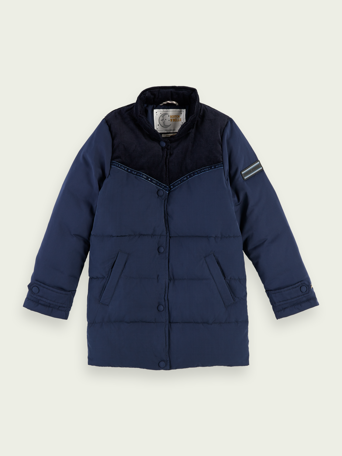 Kids Longer length corduroy jacket