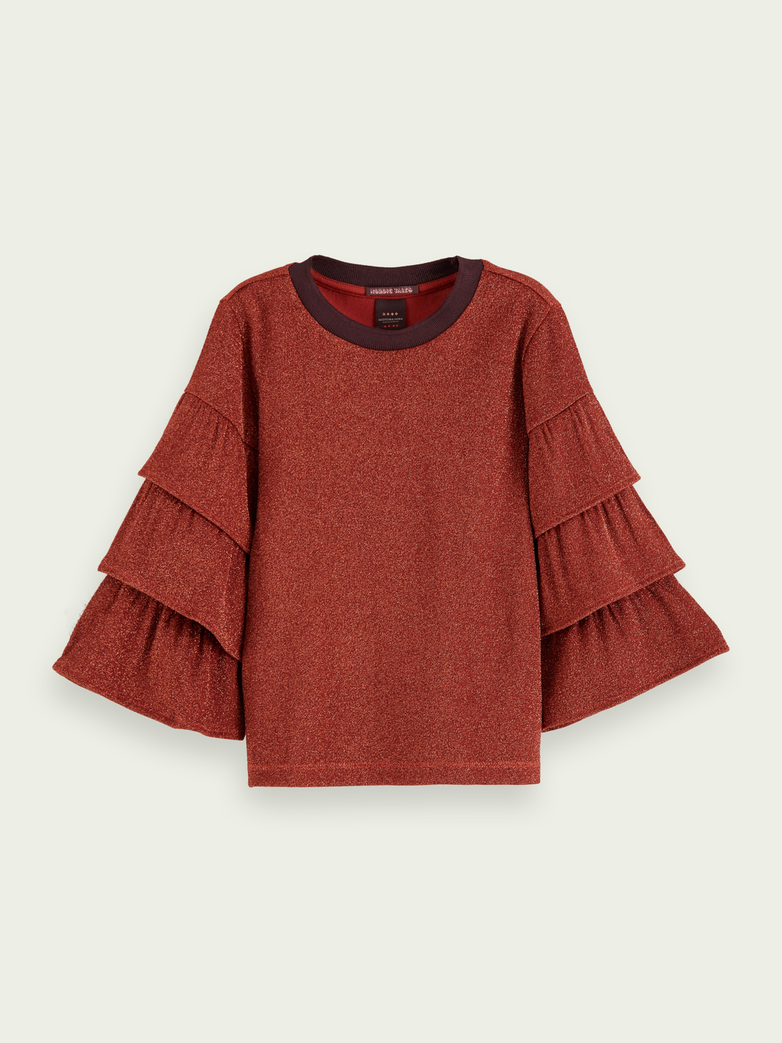 Kids Ruffle sleeve t-shirt