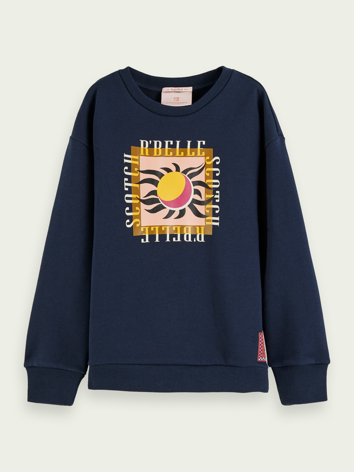 Kids Cotton artwork sweatshirt