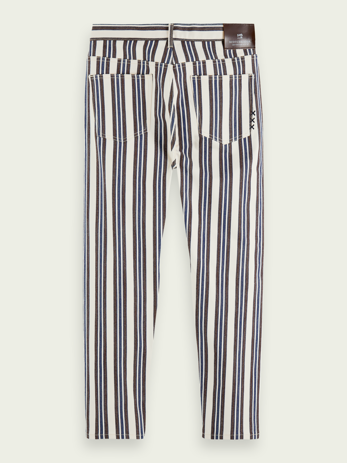 Men The Norm - Stripe Out   High-rise jeans