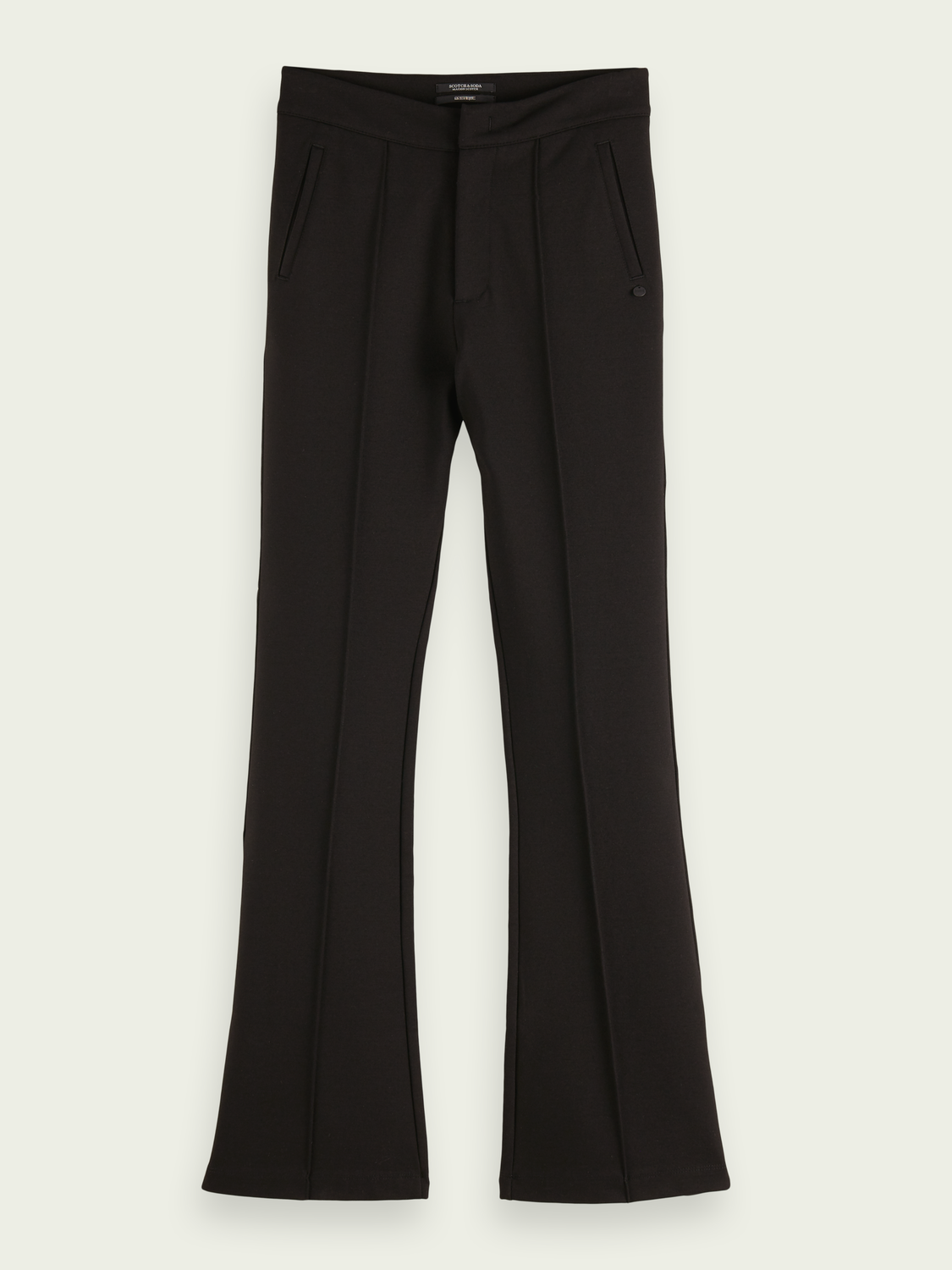 Women High-rise flared trousers