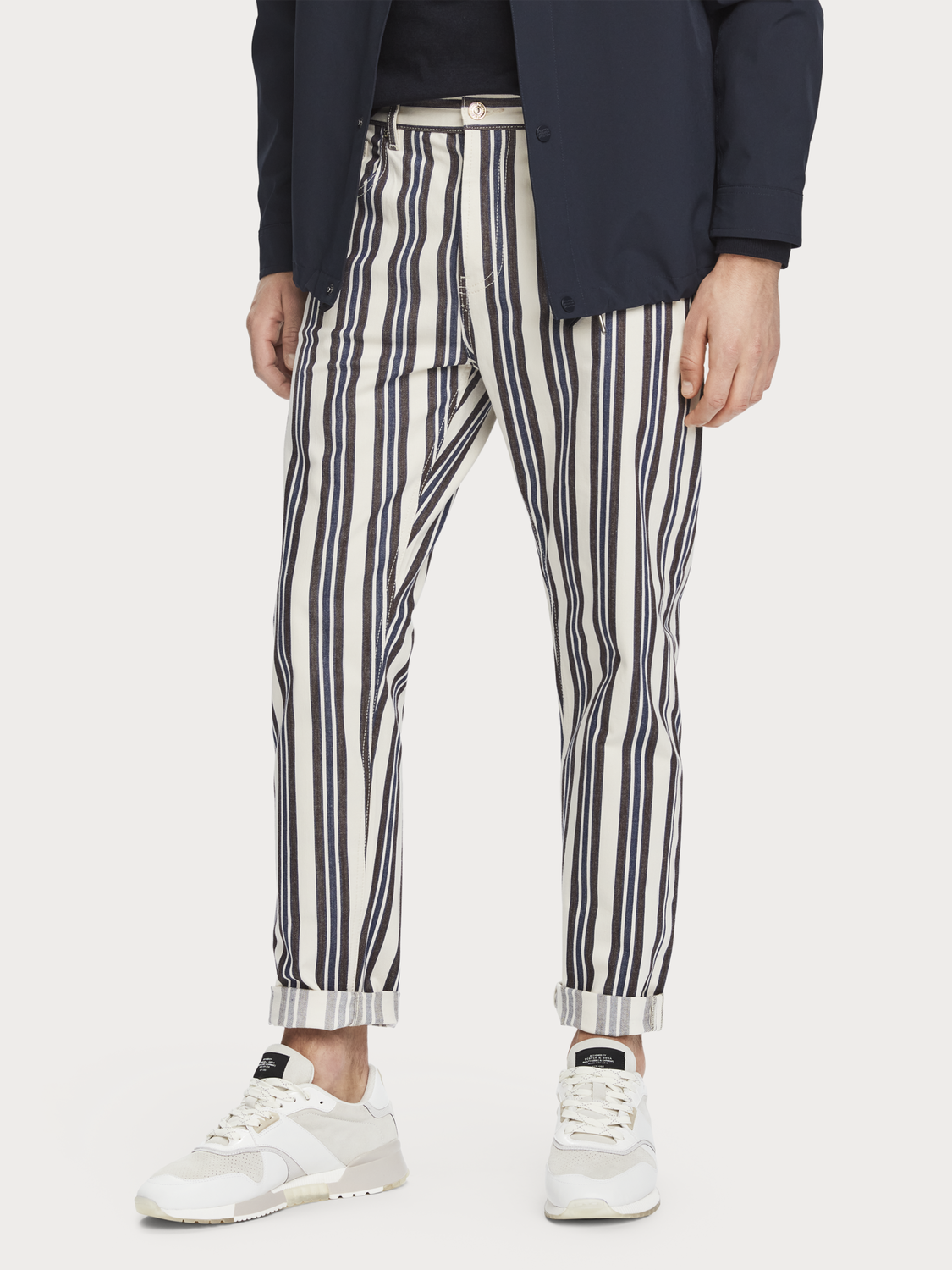 Herrar The Norm - Stripe Out | Jeans med high-rise