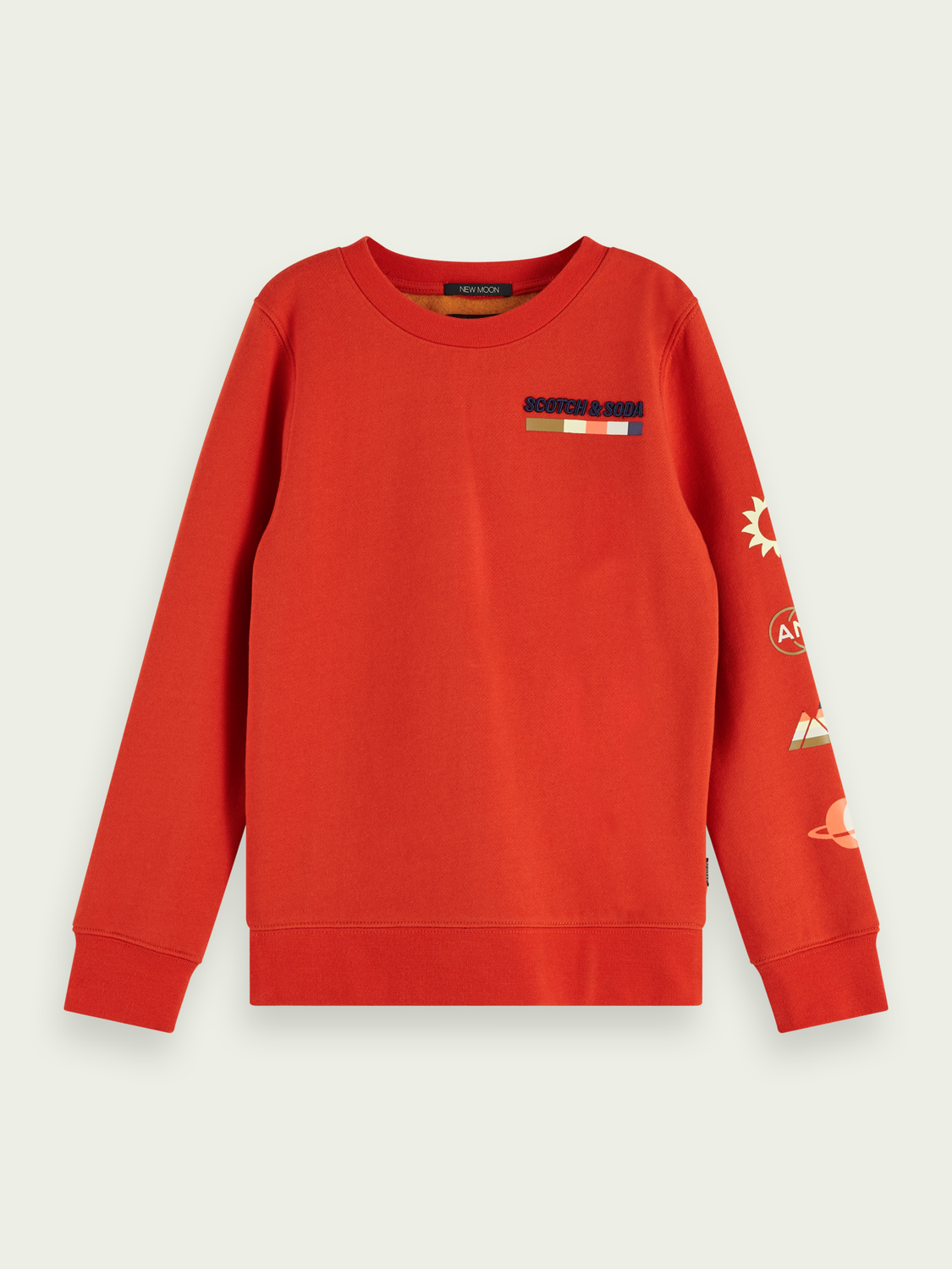 Kids Two-tone crewneck sweatshirt