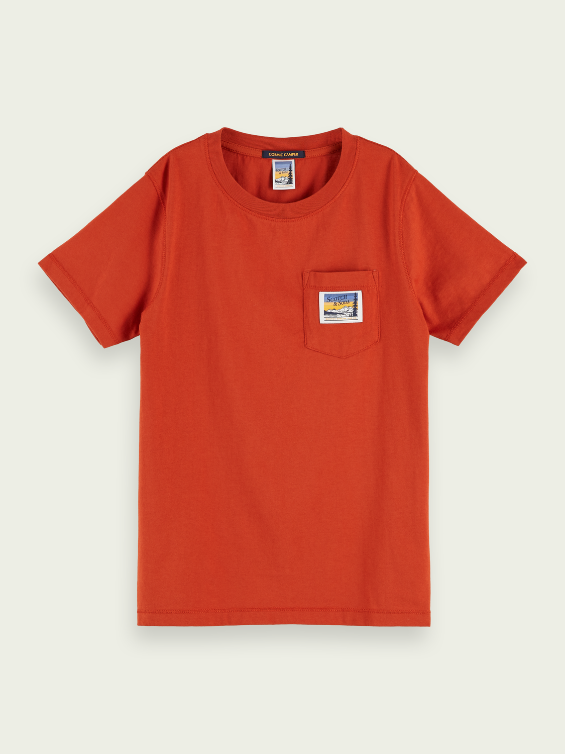 Kids Pocket detail t-shirt