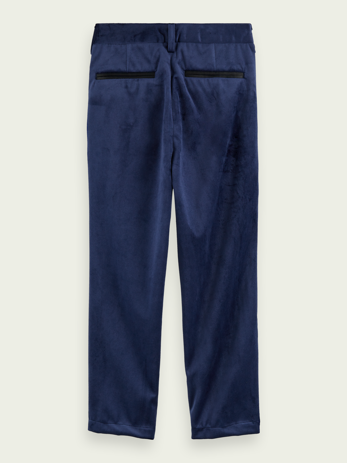Kids Slim fit velvet pants