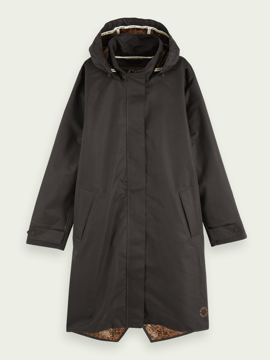 Women Waterproof trench coat