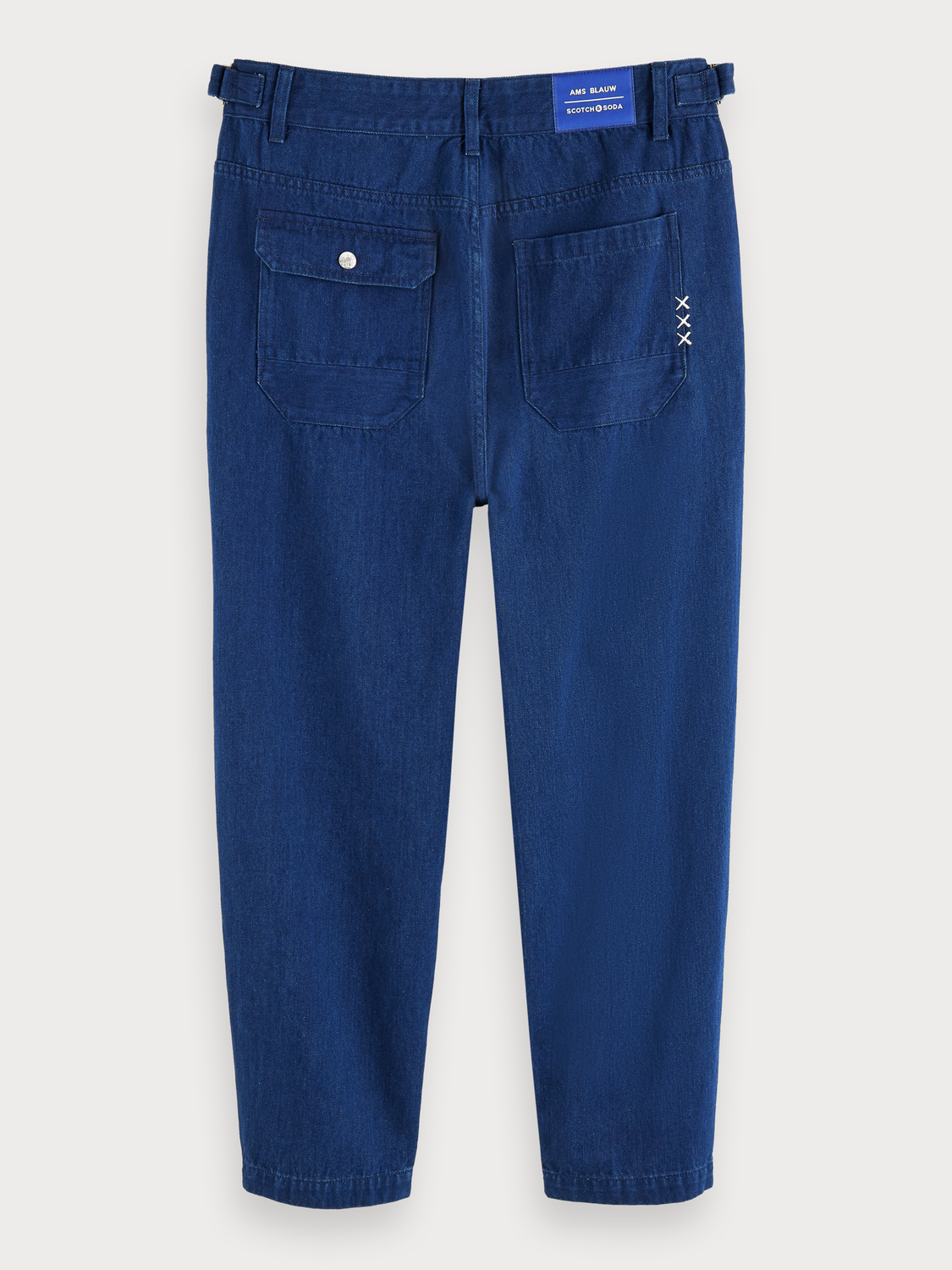 Herrar Chinos i 100% bomullsdenim | Medium-rise