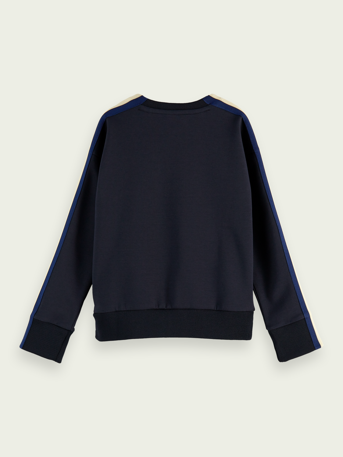 Kids Stretch-cotton taped sleeve sweatshirt