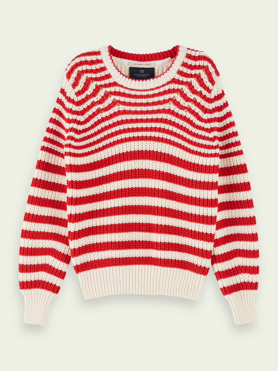 Kids Cotton-blend chunky knit pullover
