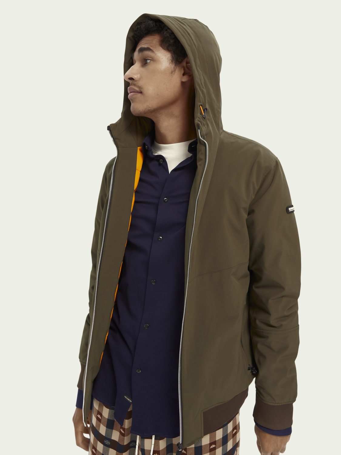 Men Stretch nylon jacket