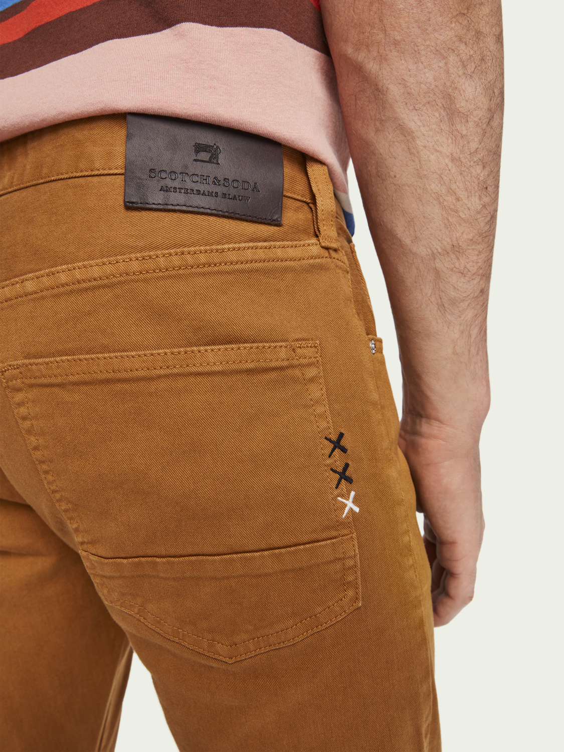 Heren Ralston – Tabacco | Slim fit jeans