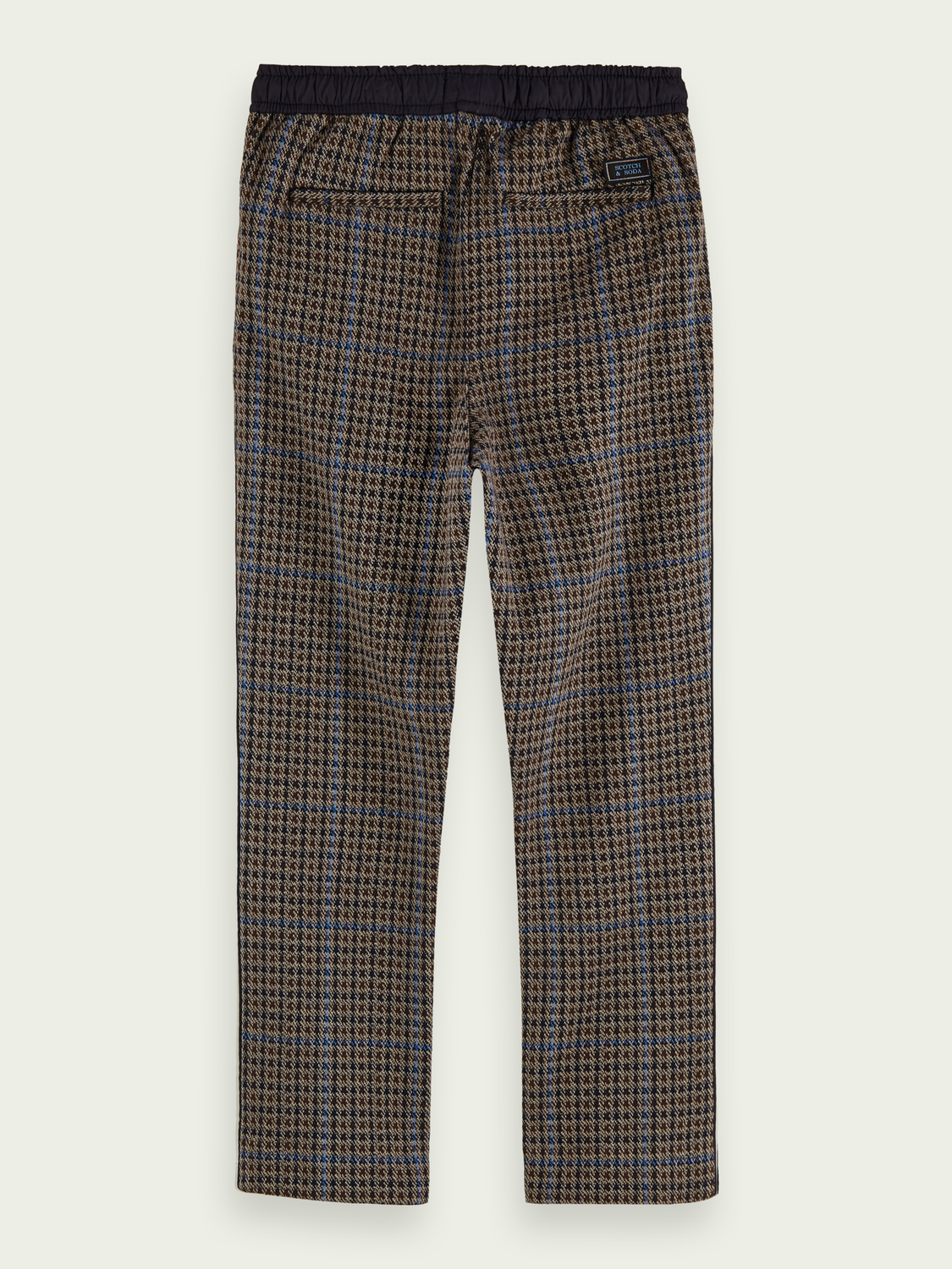 Boys Cotton knit pants | Relaxed slim fit