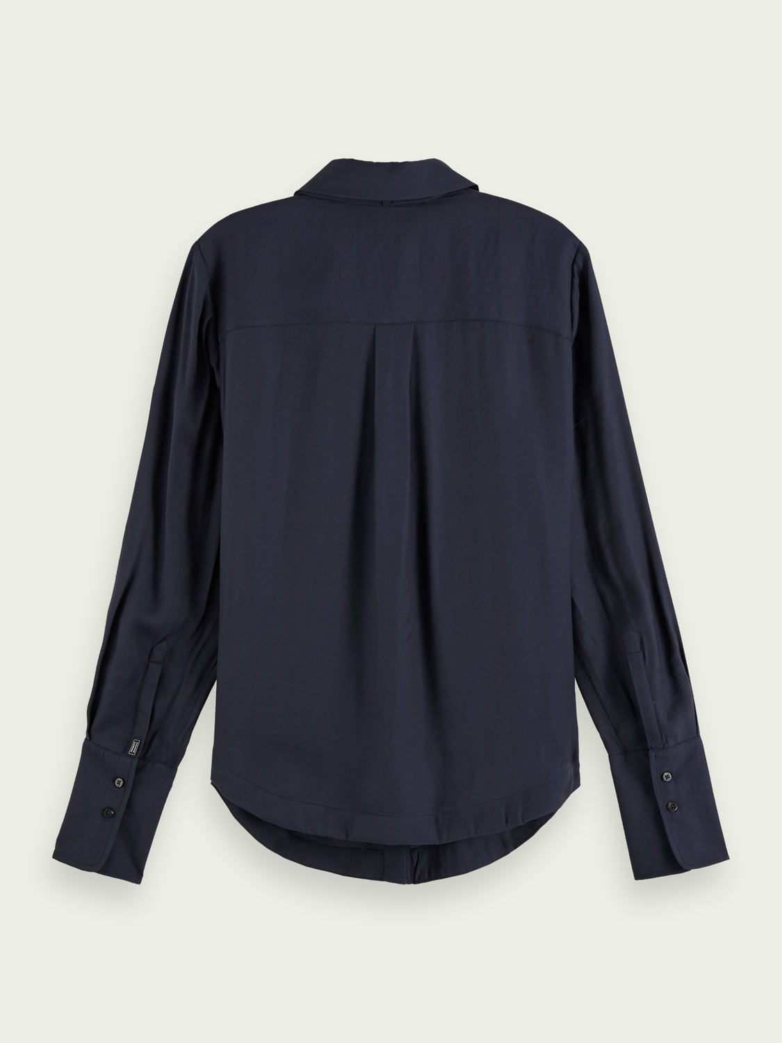 Women Bow neck long sleeve shirt