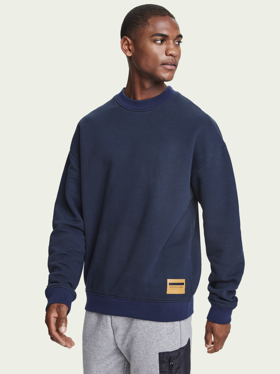 Heren Boxy fit sweater