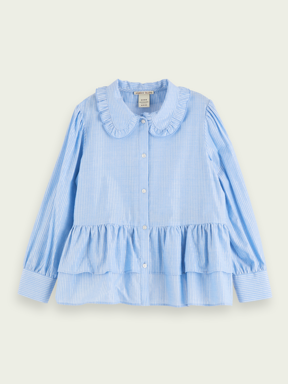 Kids Long sleeve boxy fit shirt