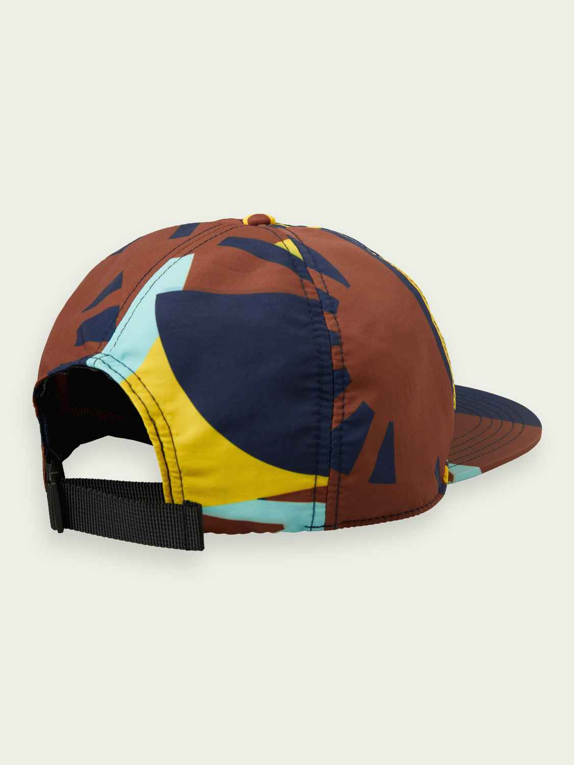 Men Colour block trucker cap