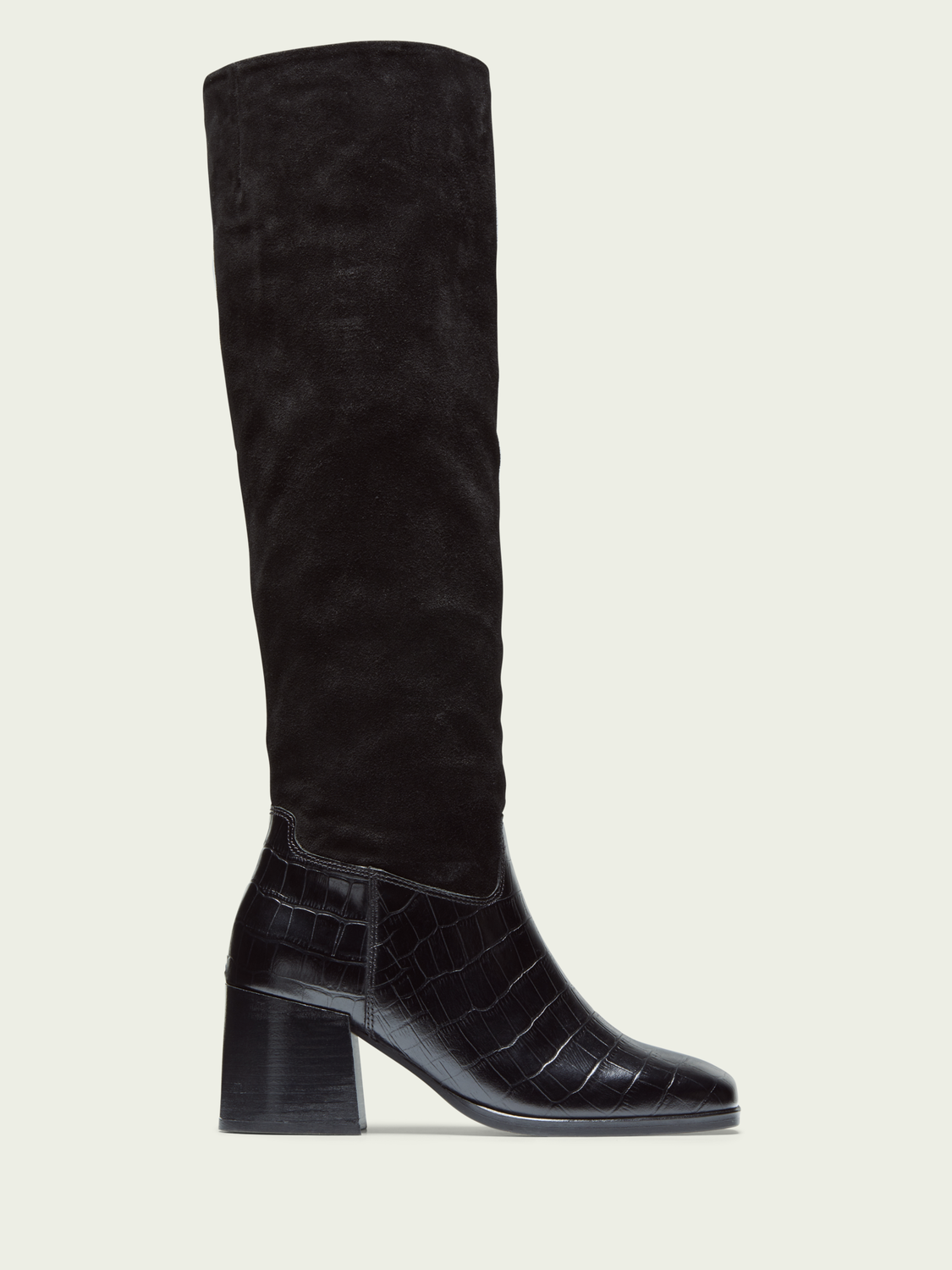 Women Florence - tall leather suede boots