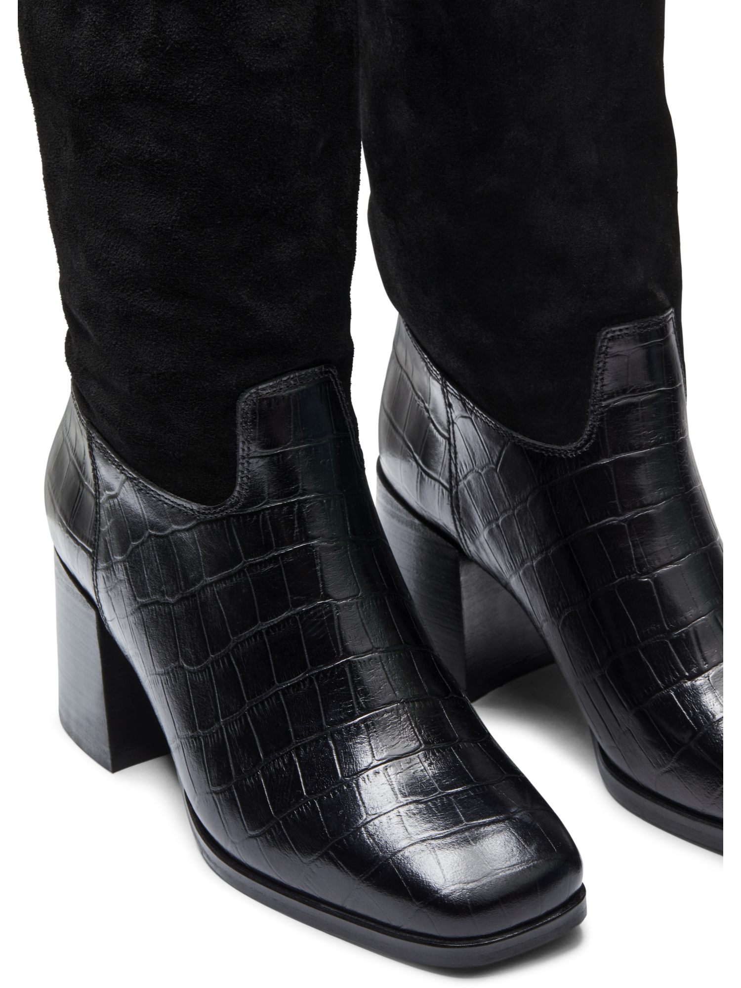 womens tall leather dress boots