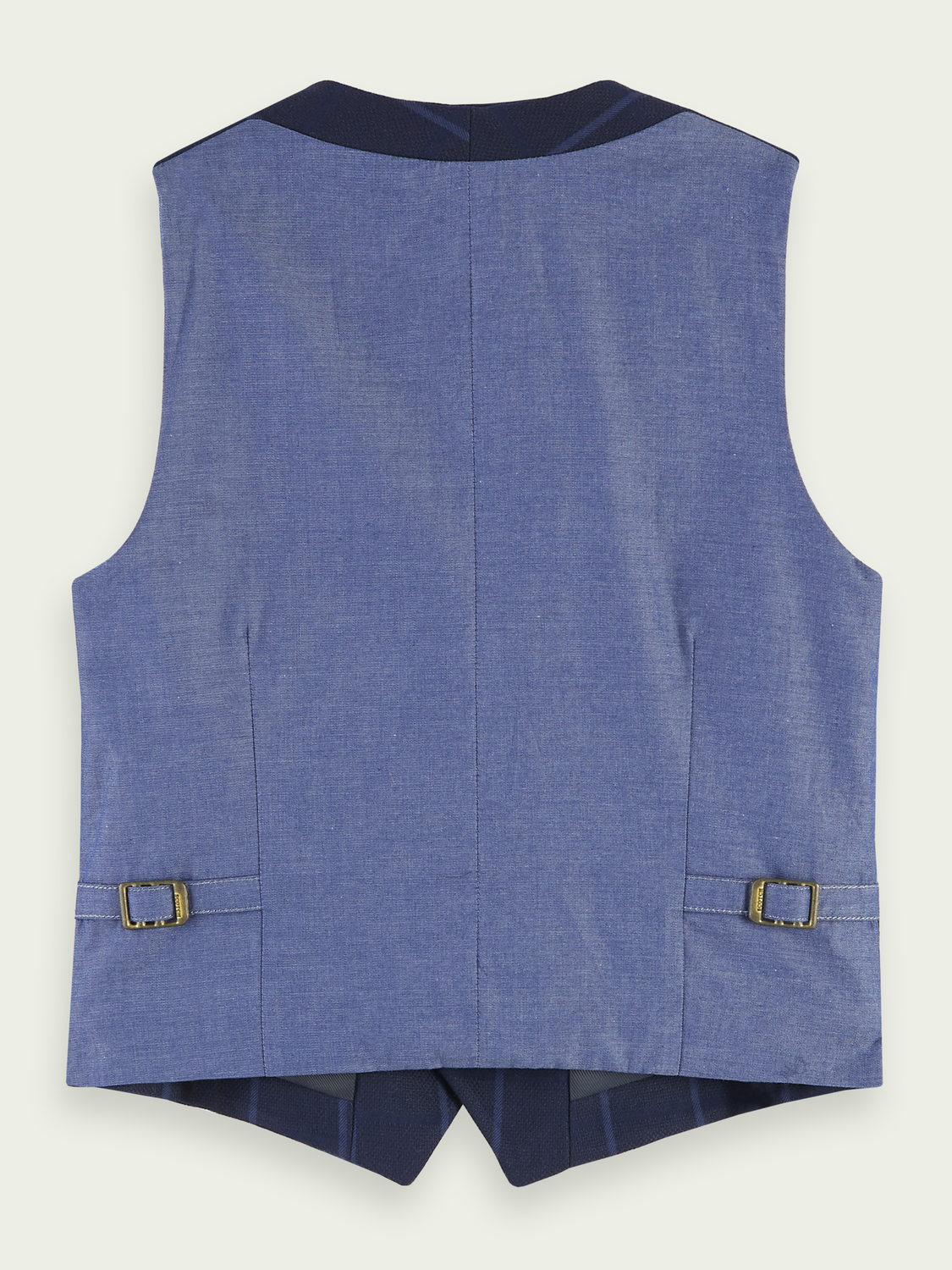 Kids Structured yarn-dyed gilet