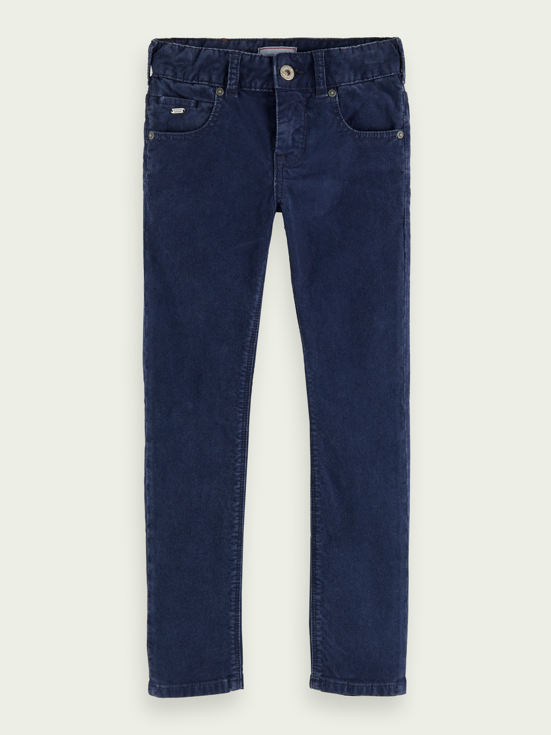 Boys Cotton corduroy skinny fit pants