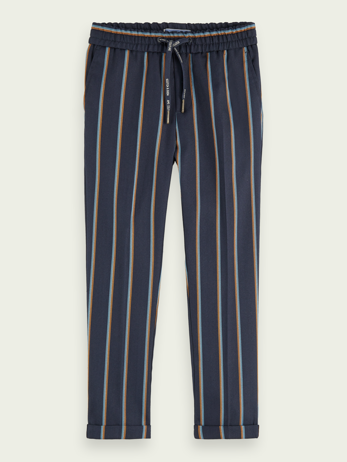 Kids Striped relaxed pants | Slim fit