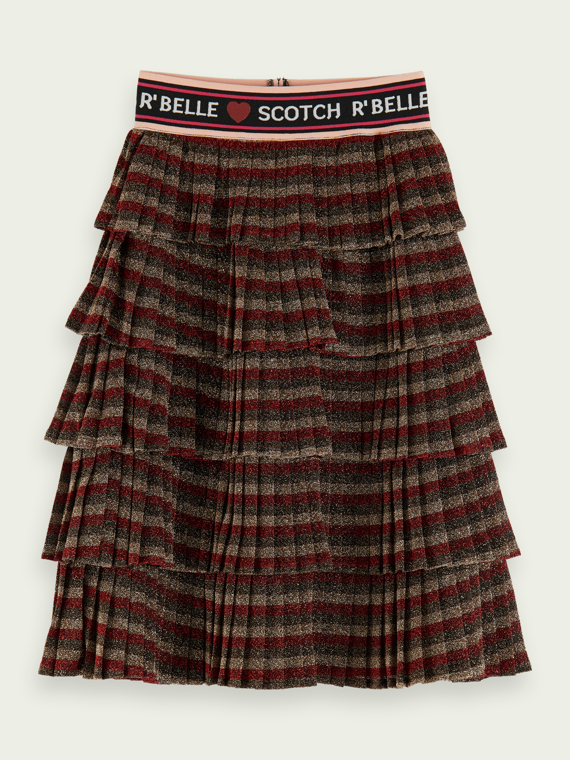 Kids Layered metallic skirt