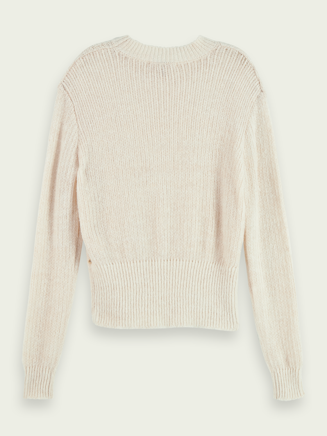 Women Wool-Alpaca blend cable knit pullover