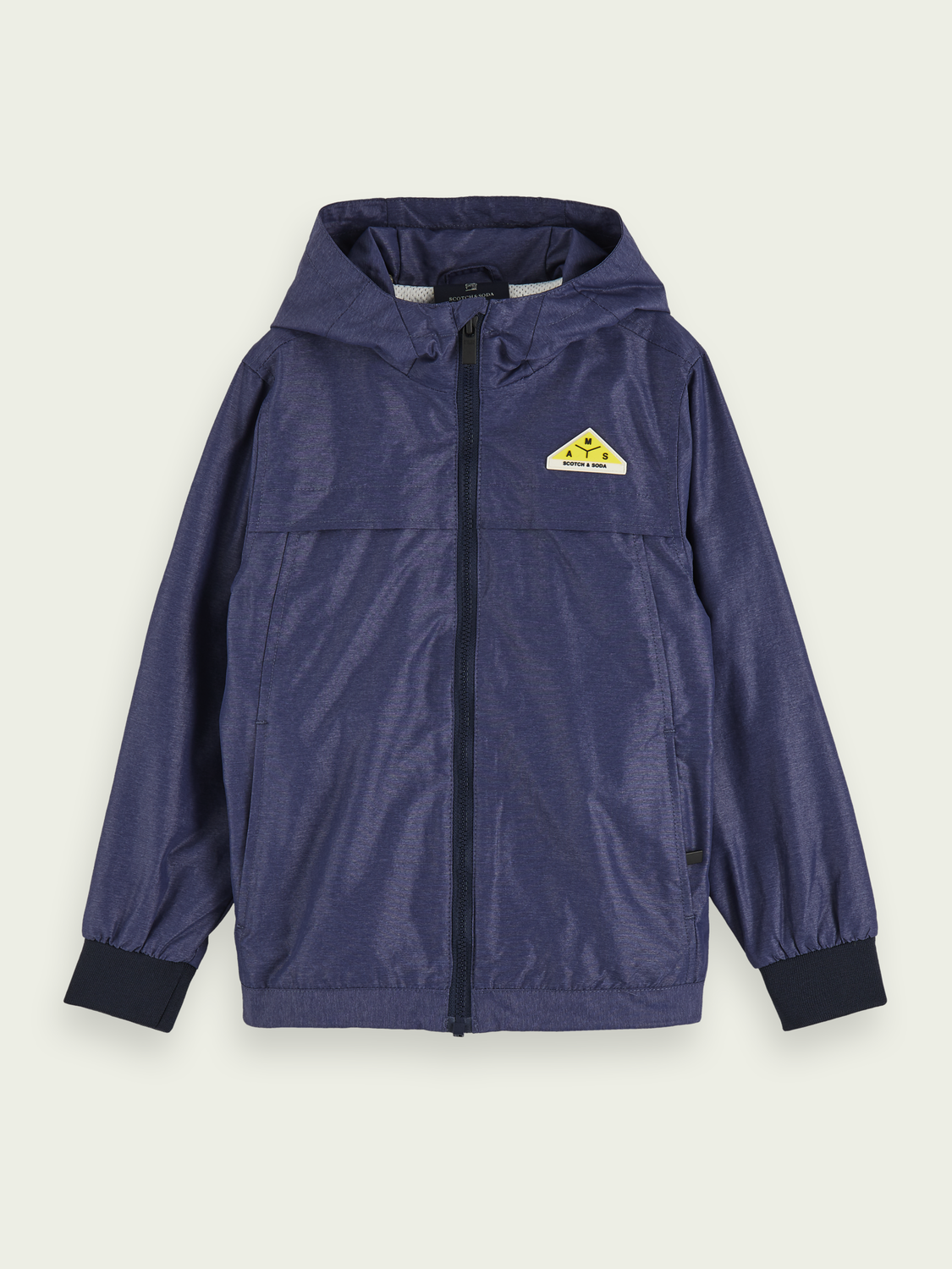 Boys Lightweight sporty hooded jacket