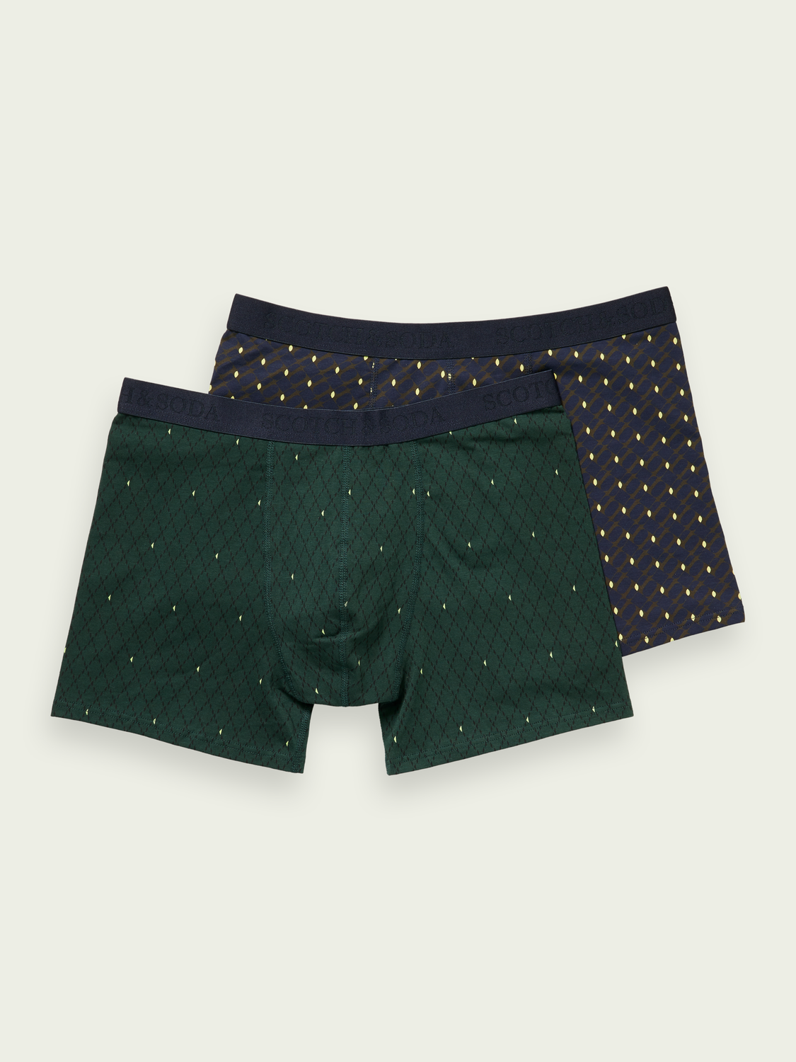 Men 2-pack classic cotton boxer shorts