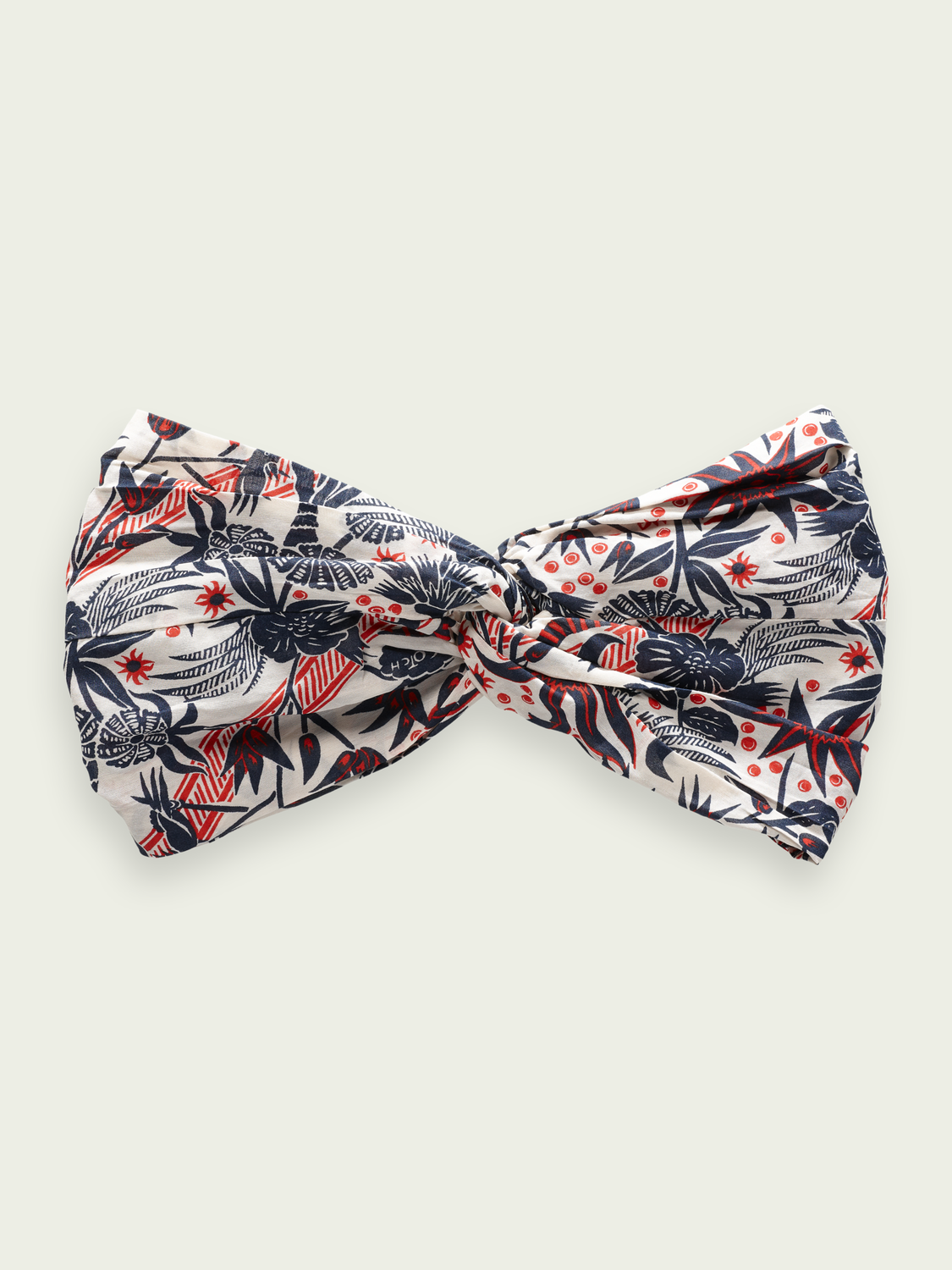 Women Cotton blend printed headband