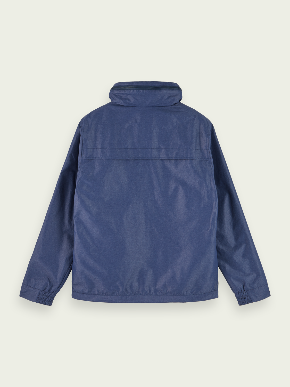 Men Sporty jacket with zip away hood