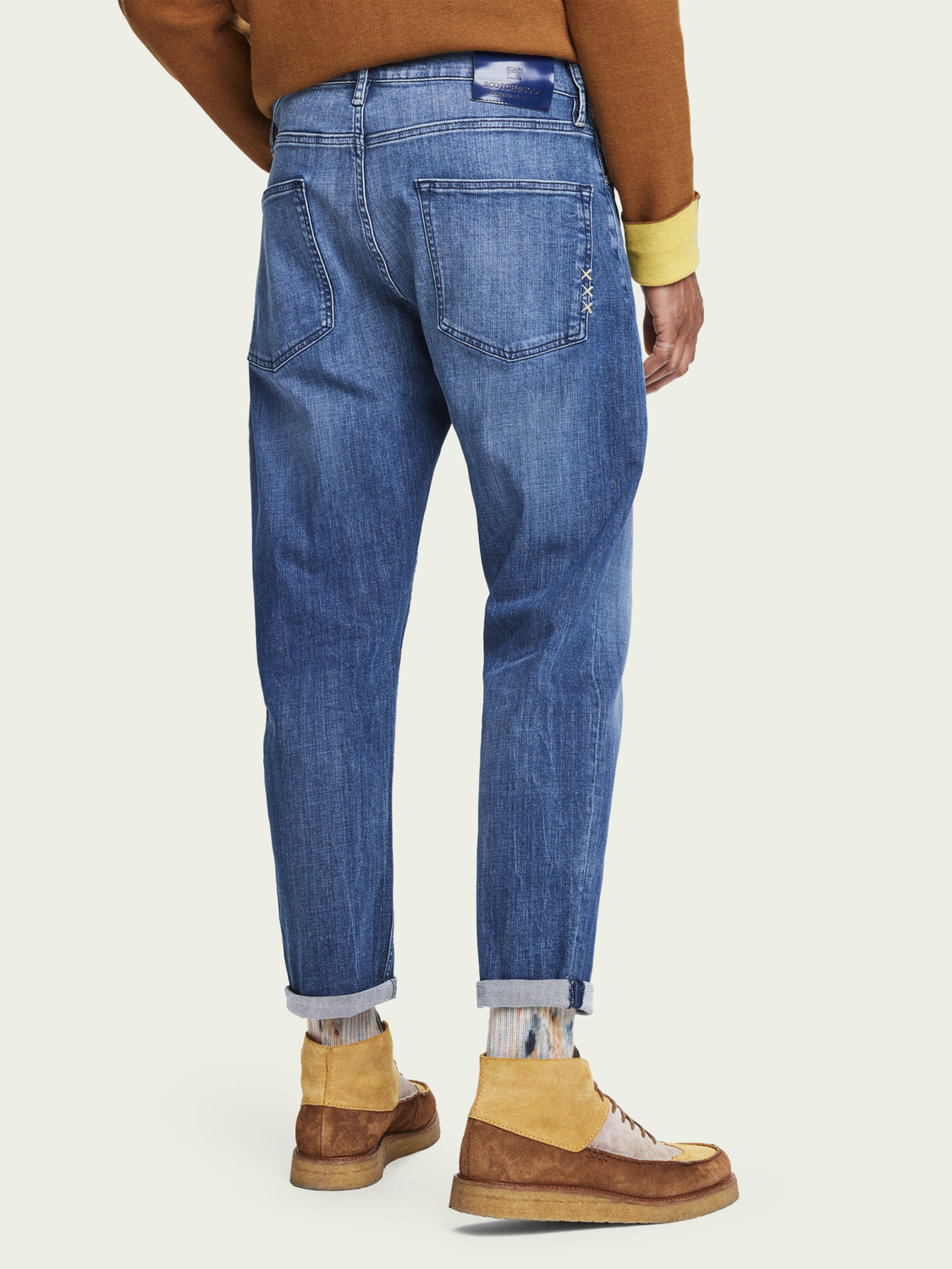 Heren Dean - Daily Icon | Loose tapered fit jeans