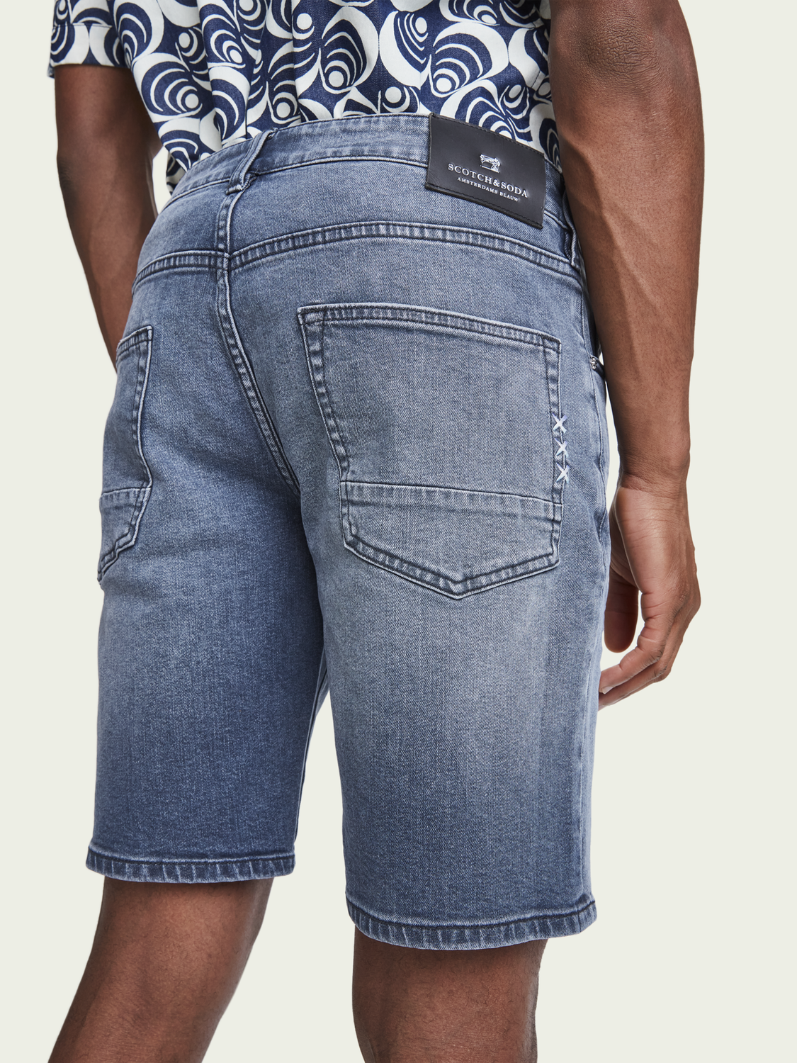 Men Ralston Short – Moonlight | Slim fit