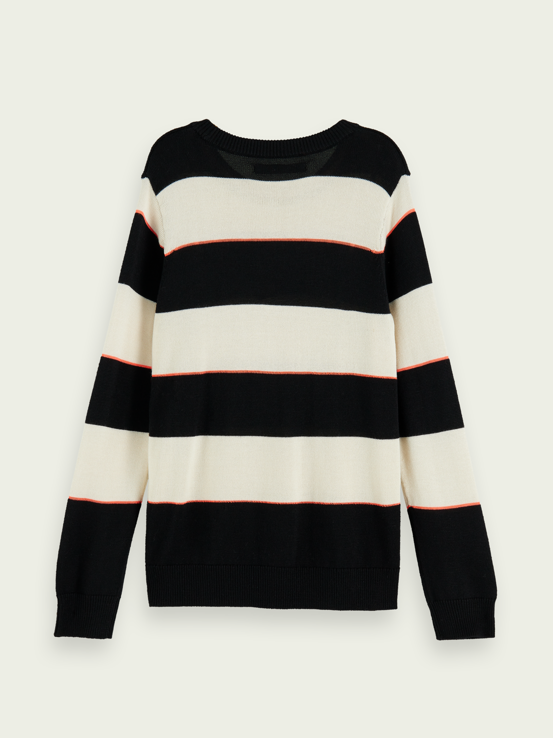 Boys Lightweight knit pullover with contrast detail