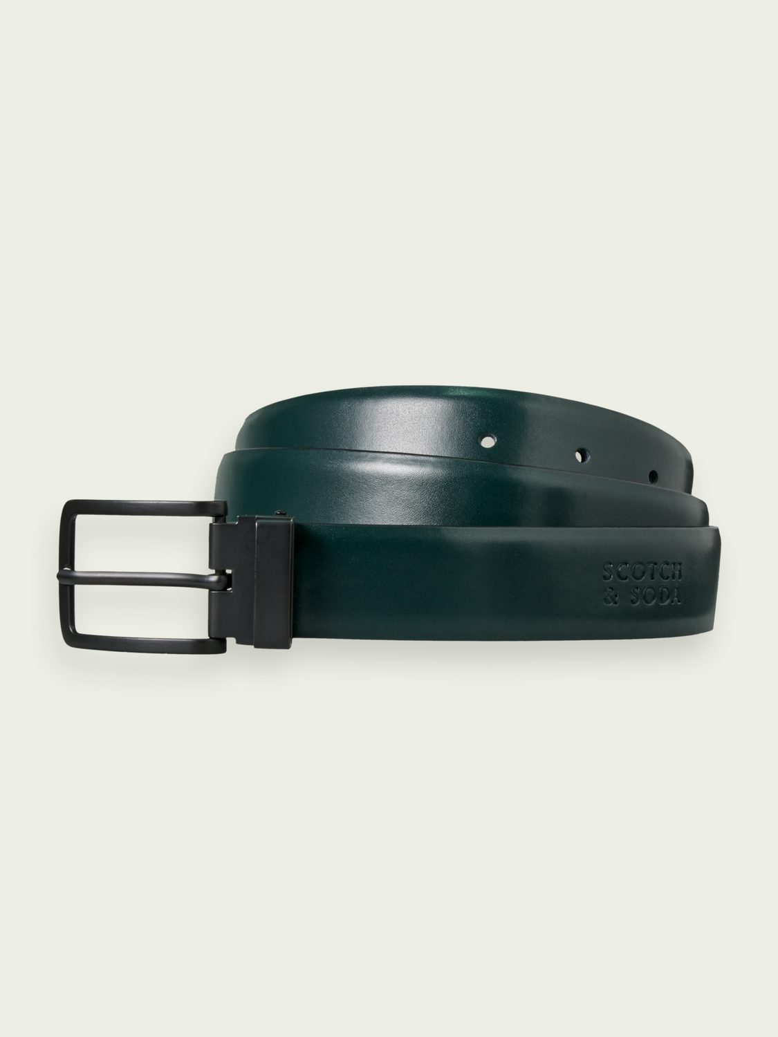 Men Reversible leather belt