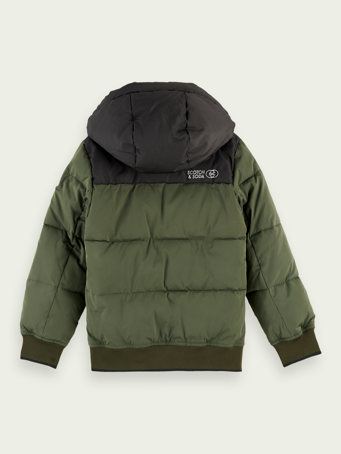 Boys Hooded puffer jacket
