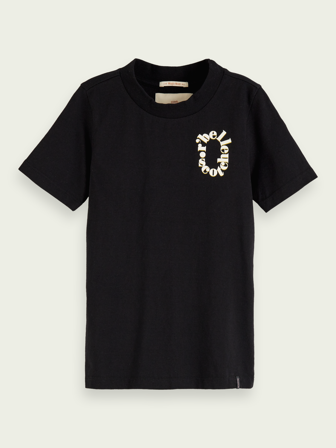 Girls T-shirt with chest motif