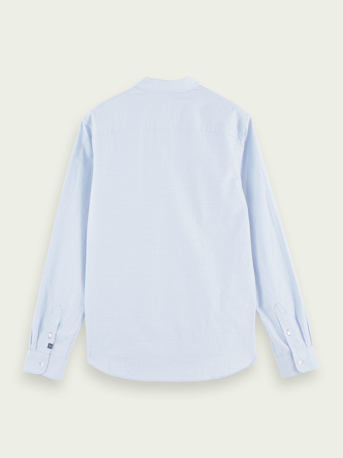 Men Cotton-blend long sleeve shirt