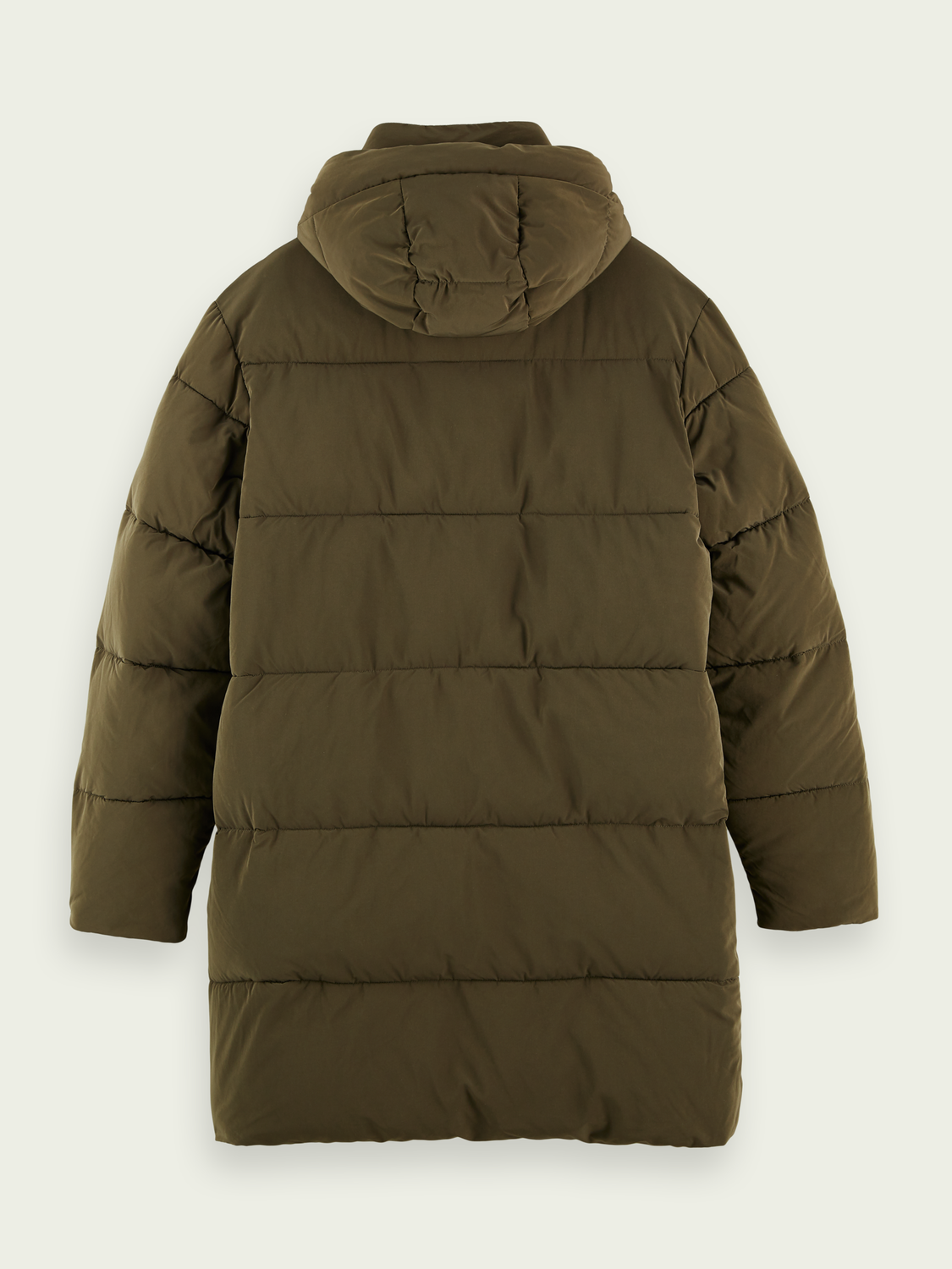 Men Faux-down puffer jacket