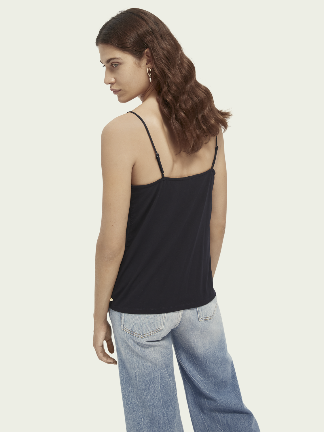 Damer V-neck camisole tank top