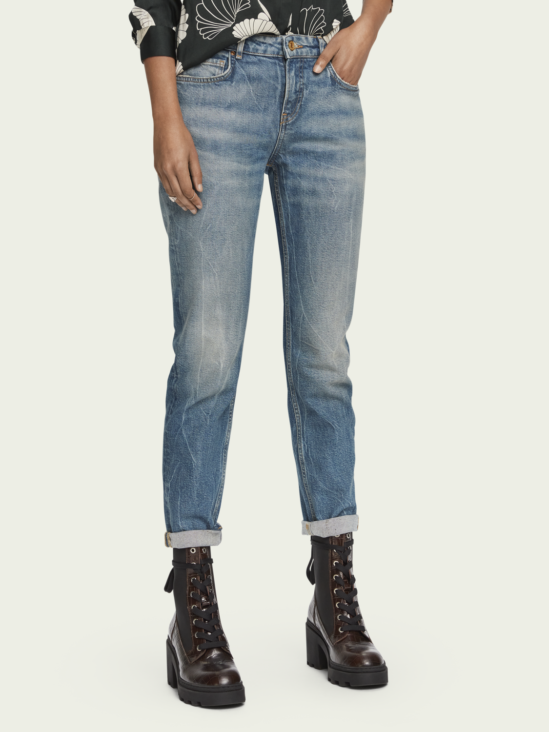 Women The Keeper - Paradise Seekers | Mid-rise slim-fit jeans