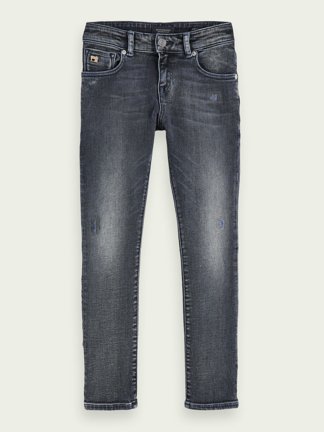 Bambini Strummer – Indigo Layer | Jeans stretch skinny in cotone biologico