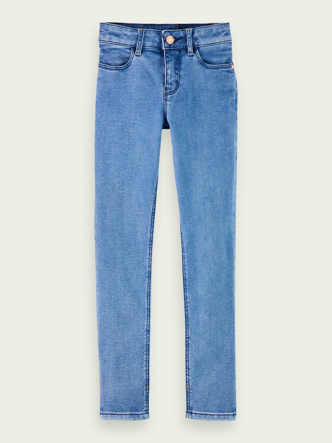 Kids La Charmante - Moody Blue | High-rise skinny fit jeans