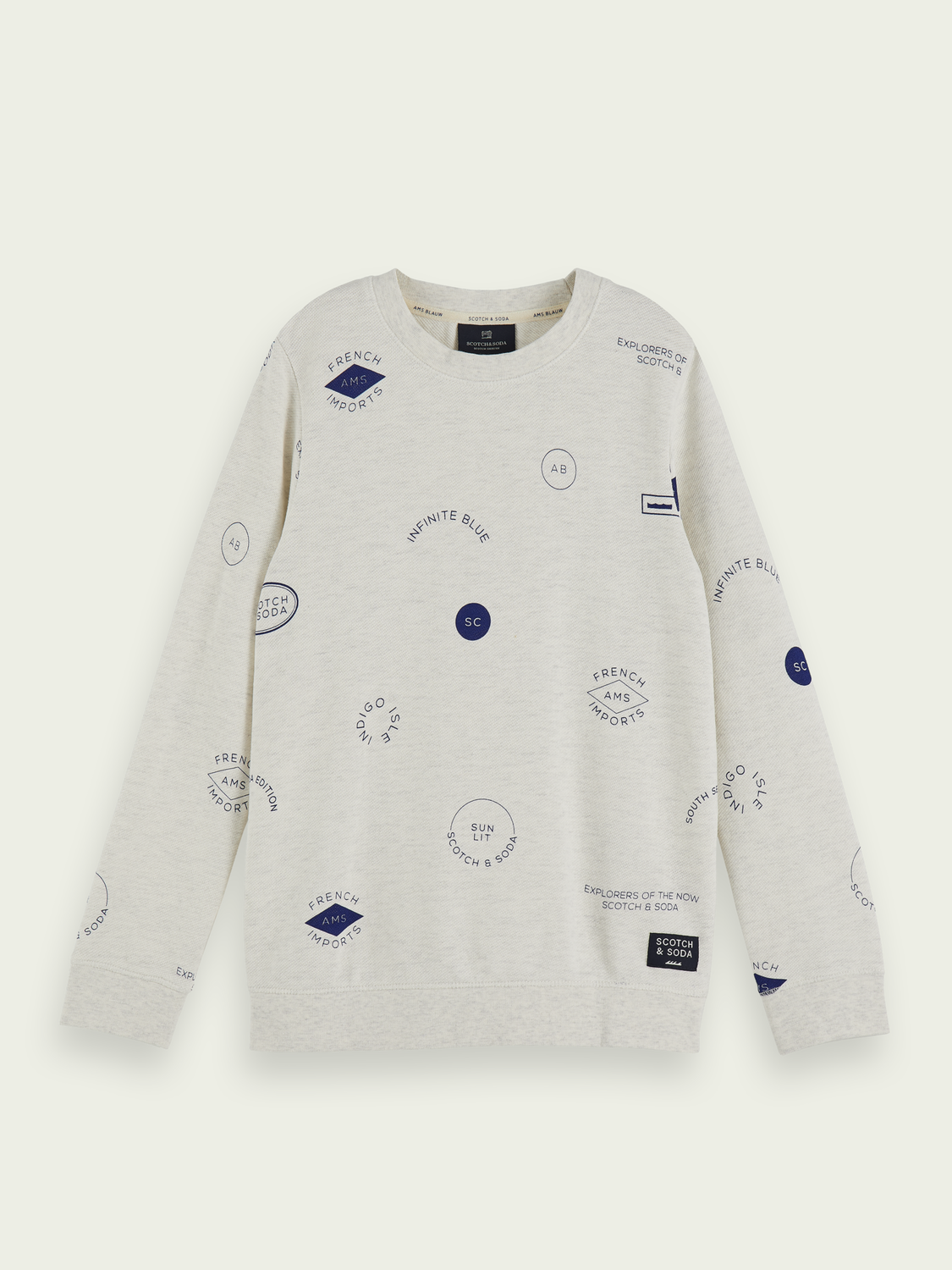 Boys Printed 100% cotton long sleeve t-shirt