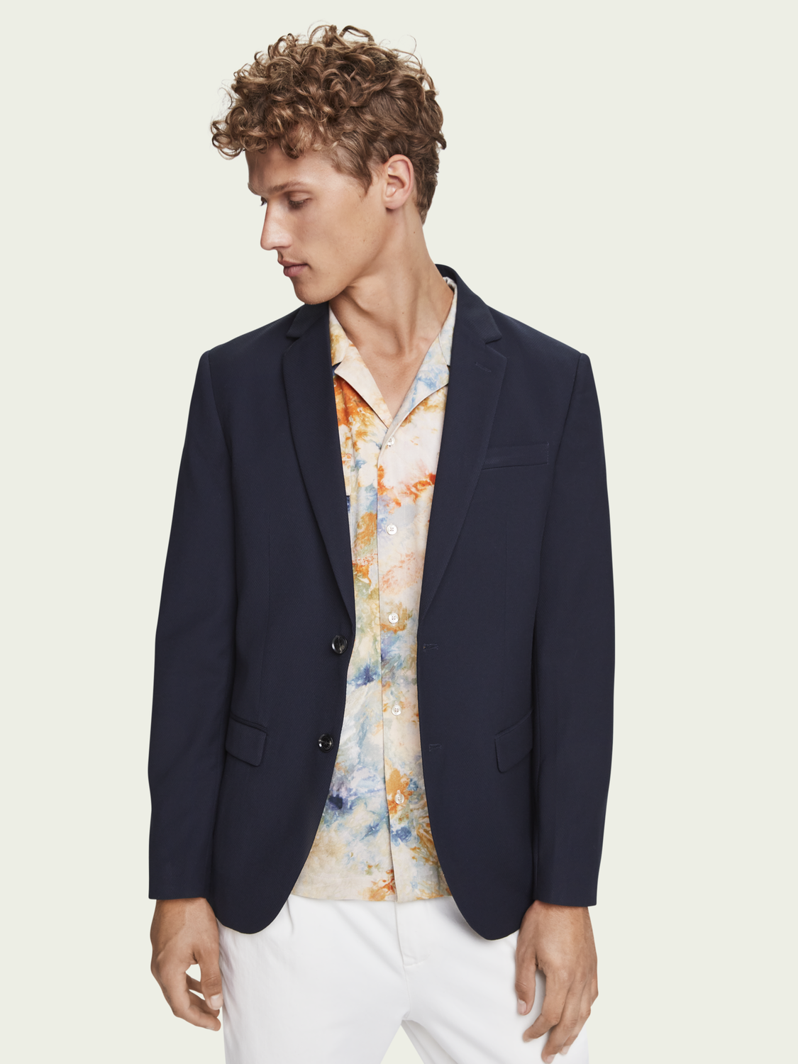 Herren Classic single-breasted blazer