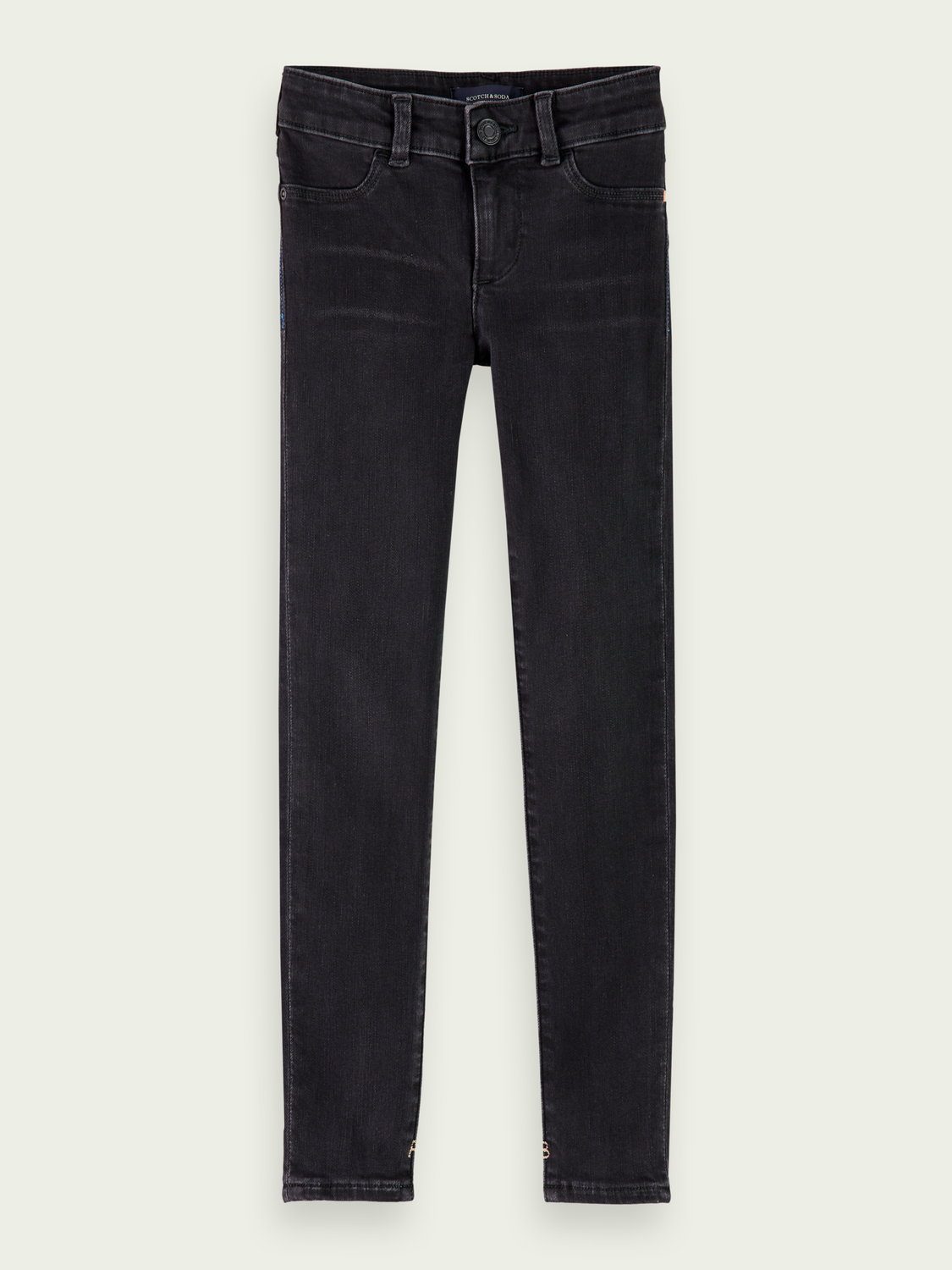 Girls La Milou  - Black Rock | Super skinny fit jeans
