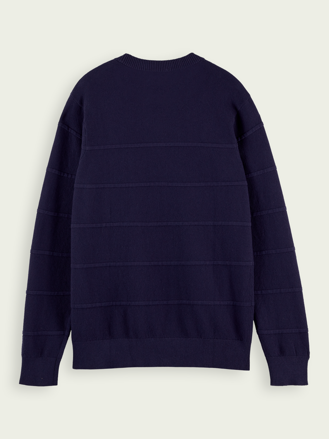 Men Classic wool cotton-blend pullover